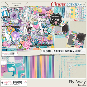 Fly Away - Bundle - by Neia Scraps