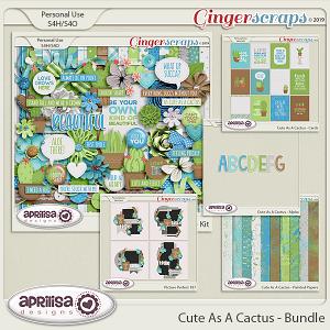 Cute As A Cactus - Bundle by Aprilisa Designs