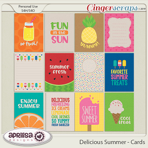 Delicious Summer - Cards by Aprilisa Designs
