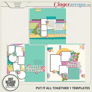 Put It All Together 1 Templates by JB Studio