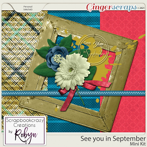 See you in September Mini Kit by Scrapbookcrazy Creations