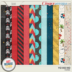 Yo Ho Ho Papers by JB Studio