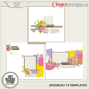 JDoubleU 14 Templates by JB Studio
