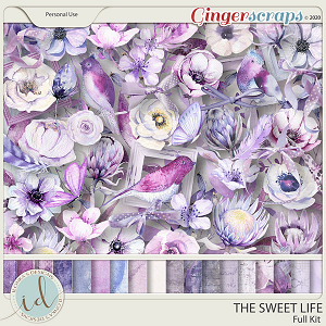 The Sweet Life Full Kit by Ilonka's Designs