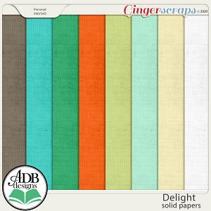 Delight Cardstock Solids by ADB Designs