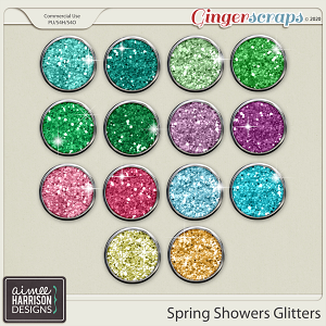 Spring Showers Glitters by Aimee Harrison