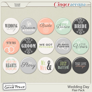 Wedding Day - Flair Pack