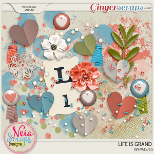 Life Is Grand - Whimsies - By Neia Scraps