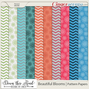 Beautiful Blooms | Pattern Paper Pack