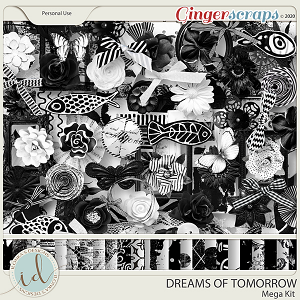 Dreams Of Tomorrow Mega Kit by Ilonka's Designs