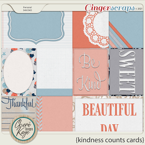 Kindness Counts Cards by Chere Kaye Designs