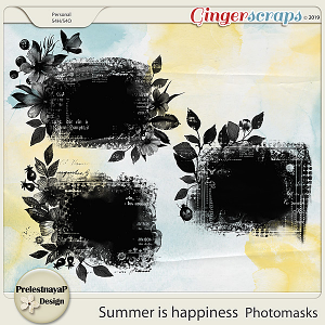 Summer is happiness Photomasks