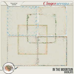 In The Mountain - Overlays - by Neia Scrap