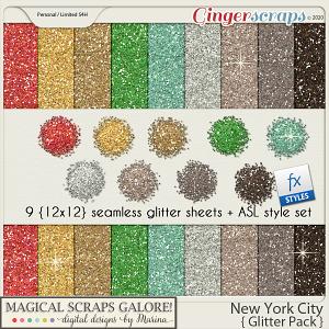 New York City (glitter pack)