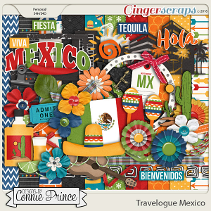 Travelogue Mexico - Kit