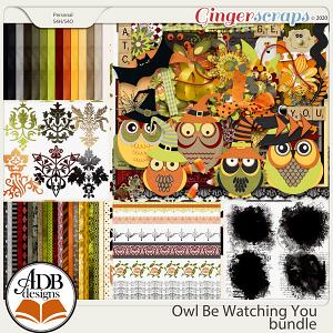 Owl Be Watching You Bundle by ADB Designs