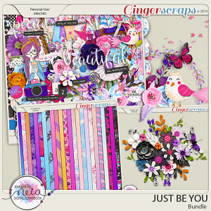 Just Be You - Bundle - by Neia Scraps
