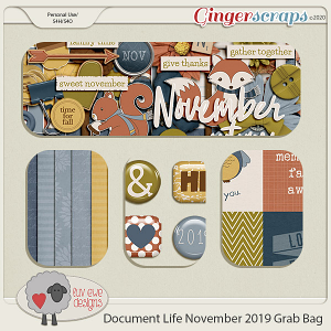 Document Life November 2019 Grab Bag by Luv Ewe Designs