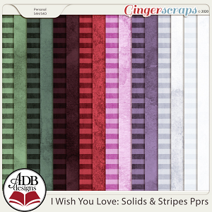 I Wish You Love Cardstock Solids by ADB Designs