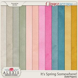 It's Spring Somewhere - Solids