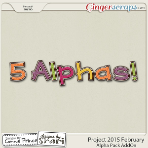 Project 2015 February - Alpha Pack AddOn