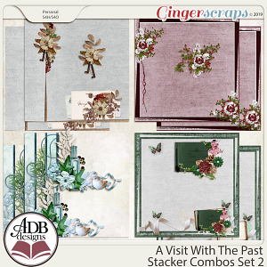 A Visit With The Past Stacker Combo Set 2 by ADB Designs
