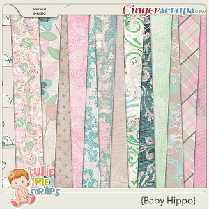 Baby Hippo Papers Packs