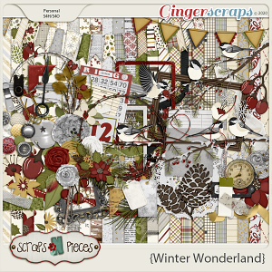 Winter Wonderland Kit by Scraps N Pieces