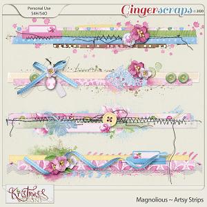 Magnolious Artsy Strips
