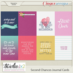 Second Chances Journal Card Pack