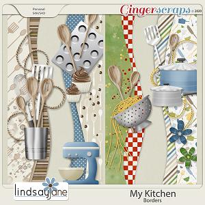 My Kitchen Borders by Lindsay Jane