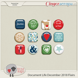 Document Life December 2018 Flairs by Luv Ewe Designs