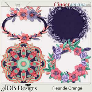 Fleur de Orange Frames & Mats