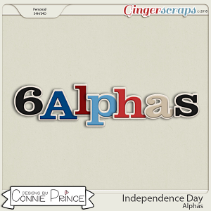 Independence Day- Alpha Pack AddOn by Connie Prince