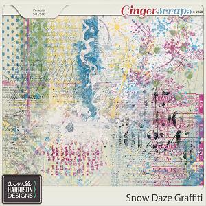 Snow Daze Graffiti by Aimee Harrison