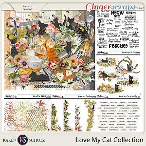 Love my Cat Collection by Karen Schulz