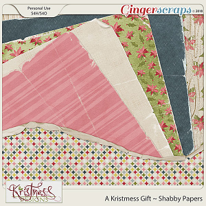 A Kristmess Gift Shabby Papers