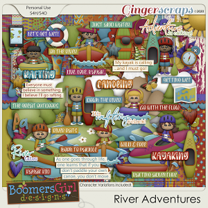 River Adventures by BoomersGirl Designs