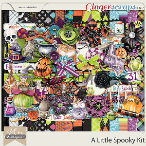 A Little Spooky Kit by JoCee Designs