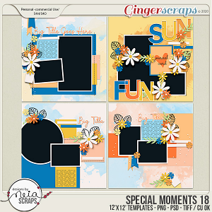 Special Moments- VOL.18 - Templates - by Neia Scraps