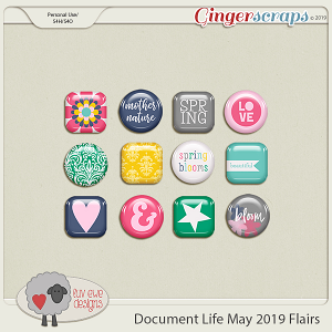 Document Life May 2019 Flairs by Luv Ewe Designs