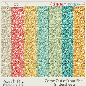 Come Out of Your Shell Glittersheets