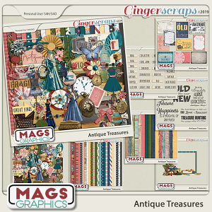Antique Treasures BUNDLE by MagsGraphics