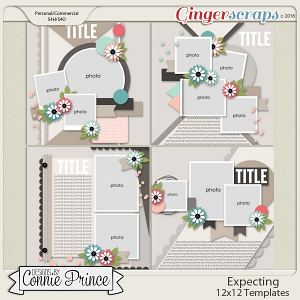 Expecting - 12x12 Templates (CU Ok)