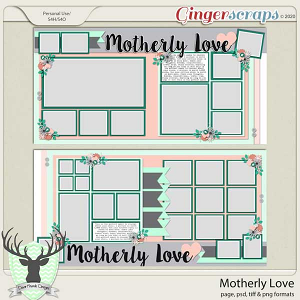 Motherly Love by Dear Friends Designs