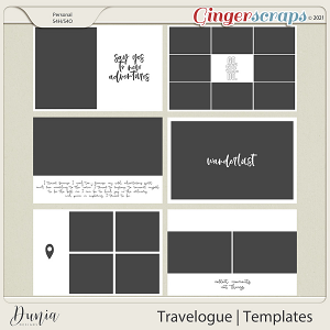 Travelogue Templates by Dunia Designs