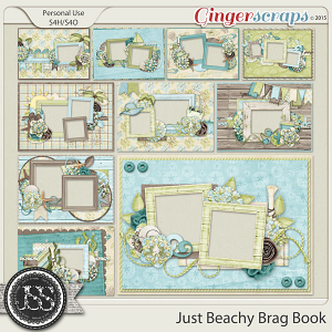 Just Beachy 5x7 Brag Book