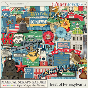 Best of Pennsylvania (page kit)