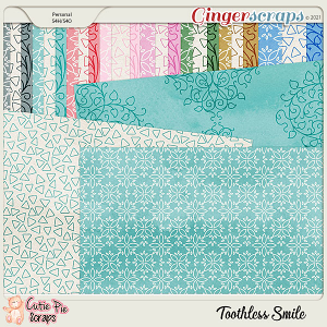 Toothless Smile Pattern Papers