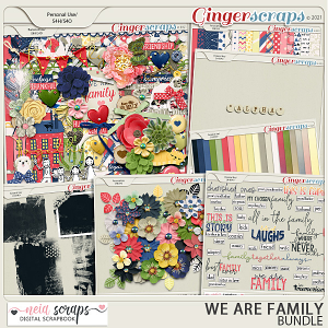 We Are Family - Bundle - by Neia Scraps
